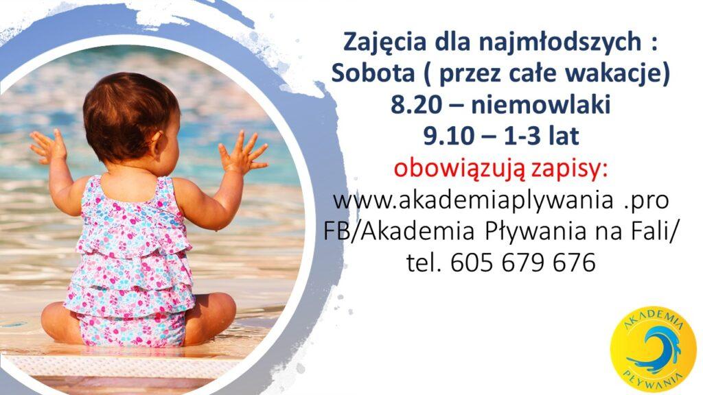 Zajęcia dla najmłodszych 1024x576 - STARTUJEMY ZZAJĘCIAMI NAUKI PŁYWANIA!!!